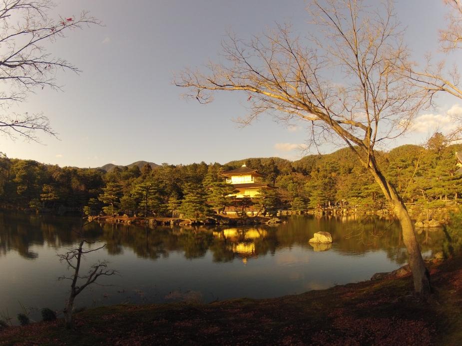 Kinkaku-ji - Templo do pavilhão dourado . Kyoto | Japão