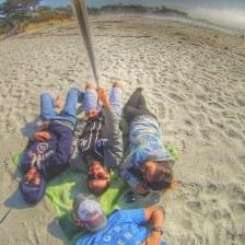 Praia em Carmel