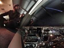 Vista do bar no Stratosphere