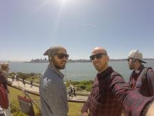 Vista a partir da ilha de Alcatraz
