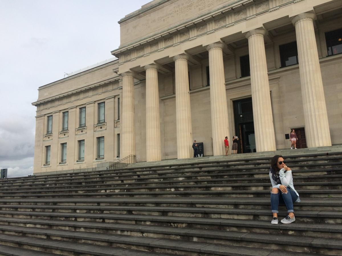 Visitando o Museu deAuckland